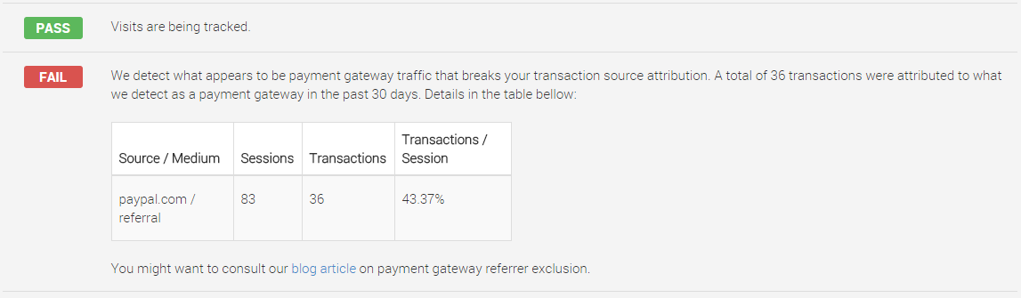 Payment Gateway Referrer Example