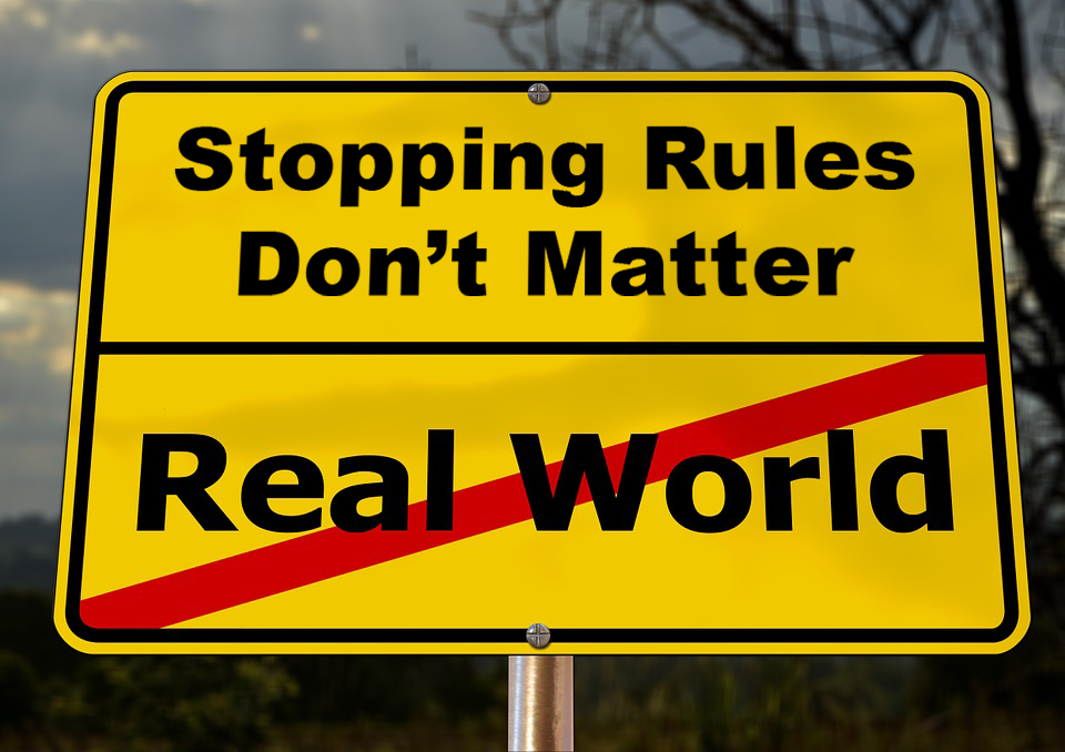 Fantasy vs real world in bayesian ab testing