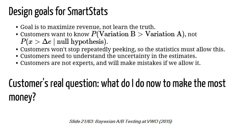 Bayesian AB Testing at VWO
