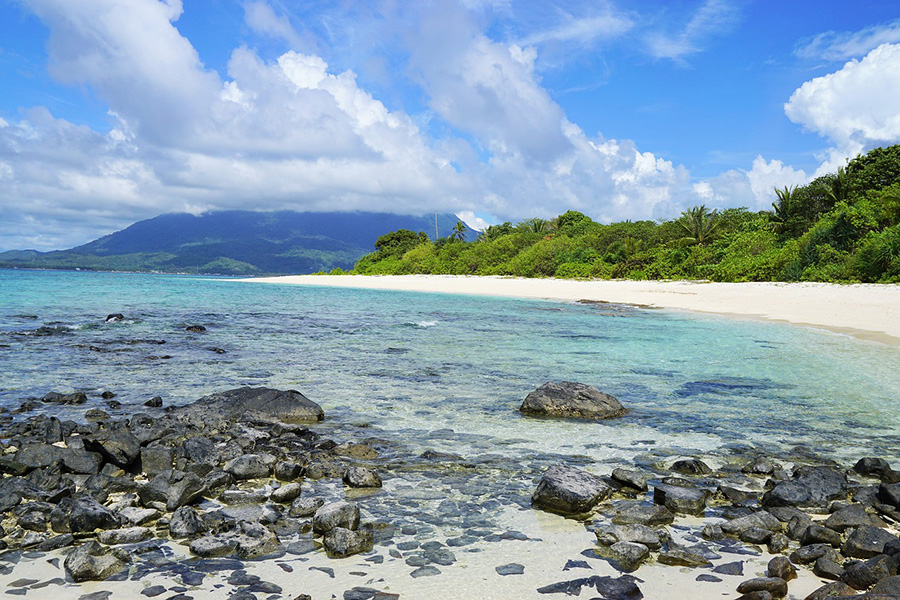 Deserted Island Beach