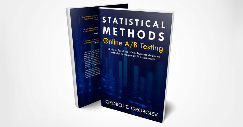 Book Cover Statistical Methods Online A/B Testing